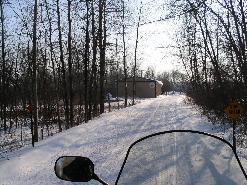 Our Trail Near Portage